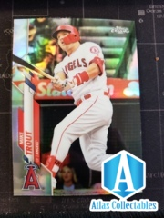 2020 Topps Chrome #1 Mike Trout - REFRACTOR