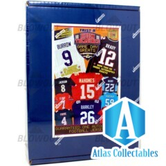 2020 Tristar Hidden Treasures Game Day Greats Series 2 Auto Jersey Football Box