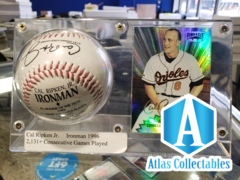 Cal Ripken JR Ironman 1996 1/1 Baseball Pinnacle Display