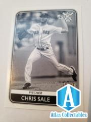 2020 Big League Baseball Chris Sale #149 Black and White /50