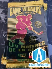 1996 Pinnacle Game Winners 3D McDonald Booster Pack NHL