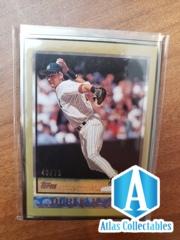 2014 Topps Framed Rookie Reprints Derek Jeter GOLD  /75 #160