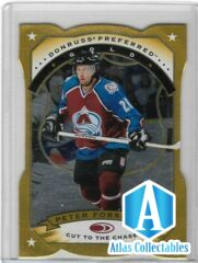 1997 98 Donruss Preferred Gold Die Cut PETER FORSBERG #2 Avalanche