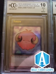 Pink Lamb Token LC04-EN009 BCCG 10 Graded