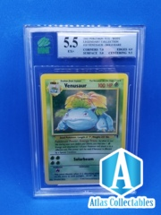 Pokemon Venusaur Legendary Collection Holo 18/110 - MNT GRADED 5.5 (like PSA)
