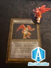 Dungeondice Monsters Gator Dragon - Figure & Card