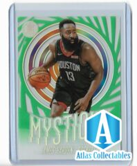 2019-20 Panini Illusions emerald parallel clear cut Mystique James Harden