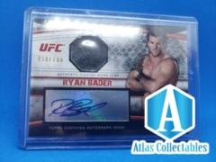 2010 Topps UFC Knockout Fighter Gear Relics /188 Ryan Bader #AFG-RB Auto