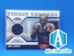 2011 Topps UFC Finest Threads Relics X-Fractor /188 Jon Jones #R-JJ