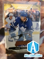 John Tavares 2019/20 Upper Deck MVP #214 Gold Script Toronto Maple Leafs