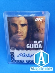 2010 Topps UFC Series 4 Fighter Clay Guida #FA-CG Auto