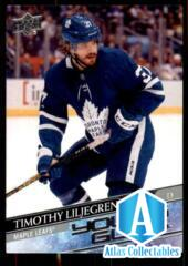 2020-21 UD Series 1 Base Young Guns #248 Timothy Liljegren RC