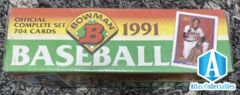 1991 Bowman Baseball FACTORY SEALED Complete Set - 704 cards