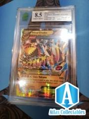 Pokemon XY Primal Clash Primal Groudon Ex Holo 86/160 MNT 8.5 MINT Graded
