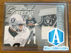 2020 Prestige MARCUS ALLEN #GH-MA Gridiron Heritage Relic Patch