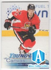 2016-17 Upper Deck S2 Young Guns Canvas Thomas Chabot #C222 Ottawa Senators