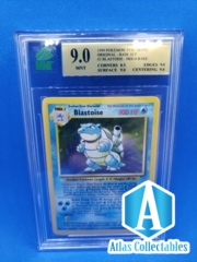 1999 Pokemon Blastoise 2/102 Unlimited - MNT 9.0 GRADED MINT (like PSA )