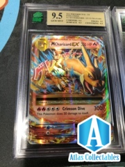 Pokemon Evolutions Holo 13/108 M Charizard EX - MNT 9.5 (like psa)