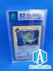 2000 Pokemon Team Rocket Dark Dragonite Holo Holographic 5/82 - MNT 8.5 (like PSA)