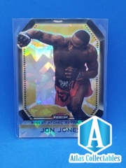 2011 Topps UFC Finest Atomic Refractor Jon Jones #FAR-8