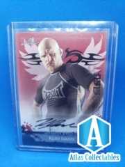 2010 Leaf MMA Autographs Red #AUKJ1 Keith Jardine Auto