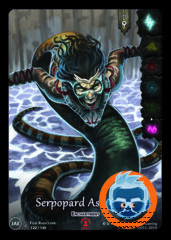 Serpopard Ascension - Full Art