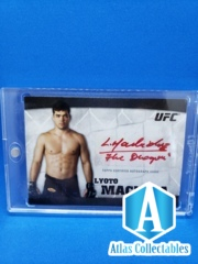 Lyoto Machida 2010 Knockout RED Auto 11/15
