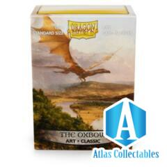 Dragon Shield - 100 Standard Size - The Oxbow Art Sleeves