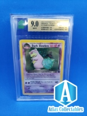 Pokemon Team Rocket Dark Slowbro 9/82 - MNT 9 (like PSA)