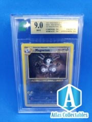 Pokemon Neo Revelation Magneton 10/64 - MNT 9.0 GRADED (like PSA )