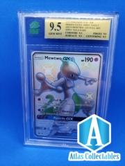 Mewtwo GX Ultra Rare SV59/ SV94 Shiny Hidden Fates GRADED 9.5 MINT MNT b
