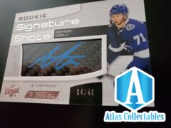 2018-19 UD Engrained Rookie Signature Shots ANTHONY CIRELLI #RSS-AC /49