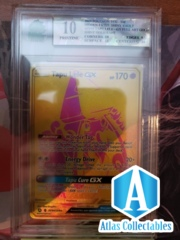 Pokemon Tapu Lele GX SV94/SV94 Secret Rare Gold Full Art MNT PRISTINE MINT 10 GRADED