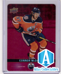 2019-20 Connor McDavid Red Die-Cut Parallel DC-28