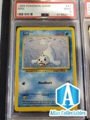 Pokemon 1st Edition Seel PSA 9 NM-Mint 41/102 1st Ed Base