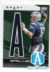 Tom Brady 2020 Donruss Elite Spell Bound