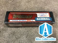 1992 Topps Gold Baseball Complete Set Brand New Unopened Factory Sealed MLB