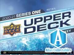 2020-21 UPPER DECK SERIES 1 HOCKEY BLASTER BOX SEALED
