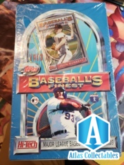 1993 Topps Finest Baseball Hobby Sealed Box