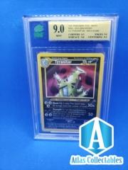Pokemon 12/75 Tyranitar Neo Discovery Holo Rare - MNT 9.0 MINT GRADED (PSA like)