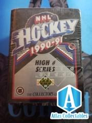 UPPER DECK 1990-91 NHL HOCKEY HIGH # SERIES FACTORY SEALED SET cards 401-550