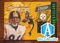 2020 Prestige Panini HINES WARD Pittsburgh Steelers Jersey Patch card #GH-HW