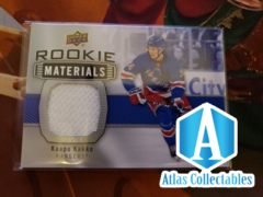 19-20 UD Series 2 Hockey Rookie Materials Jersey RM-KK Kaapo Kakko