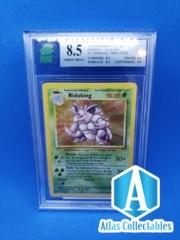 Nidoking 1999 Pokemon Holo Base Set #11/102 - MNT 8.5 MINT GRADED (like PSA)