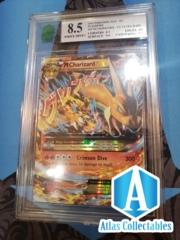 Mega Charizard EX 13/106 Flashfire XY M Holo Pokemon - MNT 8.5 MINT GRADED
