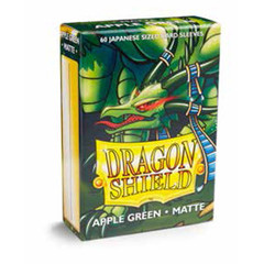 Dragon Shield 60 Count Sleeves - Matte Apple Green