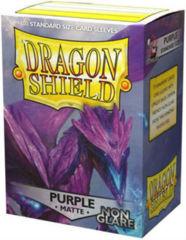 Dragon Shield 100 Count - Purple Matte Non Glare