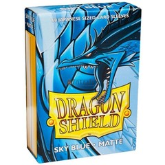 Dragon Shield 60 Count Sleeves - Matte Sky Blue