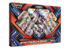 Pokemon Shiny Tapu Koko-Gx Box