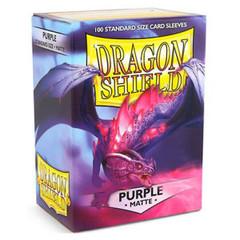 Dragon Shield Box of 100 in Matte Purple